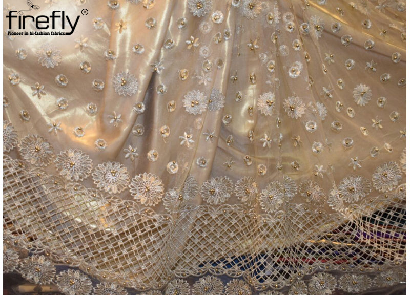 Get to Know About Embroidery and Lace Works on Fabrics
