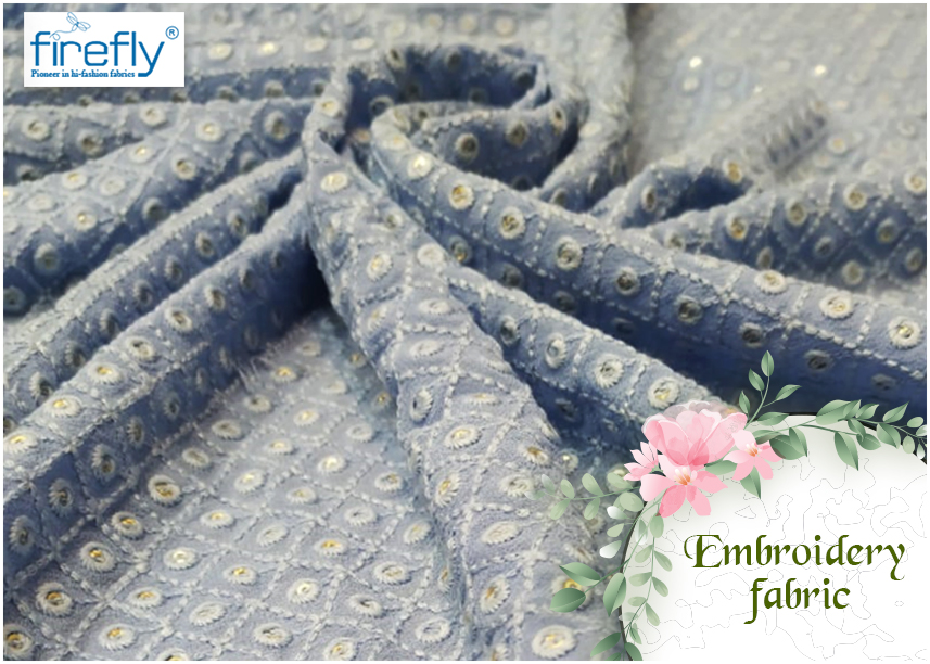 Why Embroidery Fabrics Designers Need to Stock from Wholesalers